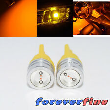 Dash Board 1 Watt LED Yellow Reverse/Interior Light Bulb 2 pc 194/168/T10/184