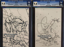 CGC 9.8 Ant 1 Sketch Variant w/ Matching CoA's 1st App Ltd to 500 Gully Campbell