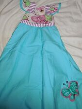 nwt Jelly the Pug blue butterfly angle wing dress  girl 2T free ship USA