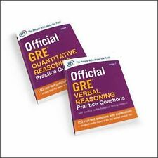 Official GRE Value Combo by Educational Testing Service (2015, (FREE 2DAY SHIP)