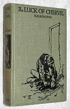 1930's~THE LUCK OF CHERVIL~H Elrington~C15 HISTORICAL ADVENTURE~DECORATIVE COVER