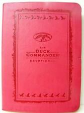 THE DUCK COMMANDER DEVOTIONAL PINK FAUX LEATHER RELIGIOUS CHRISTIAN BOOK
