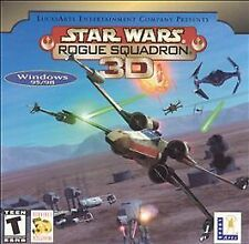 Star Wars Rogue Squadron 3D (PC, Win 95/98) Disc Only