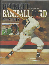 Roberto Clemente-Cover Beckett Baseball May 1989-Mark McGwire on Back