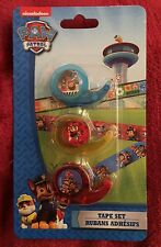 Paw Patrol Crazy Fun Tape Decorative Washi Tape / Craft Tape 3-pack NEW!