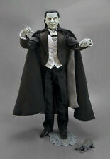 "Sideshow 12"" SILVER SCREEN DRACULA Signed OLUF W HARTVIGSON Universal Lugosi SSE"