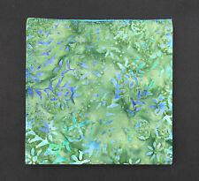 Mens Green's & Blue Batik Design Cotton Handkerchief Pocket Square Hankie Hanky