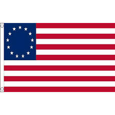 Betsy Ross Flag 5Ft X 3Ft Usa Historic Patriotic American Banner With 2 Eyelets
