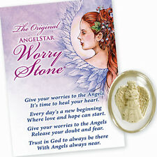 AngelStar Angel of Peace Dove Hurt Worry Pocket Purse Stone 8719