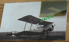 RARE NEGATIF + PHOTO SOPWITH WWI 14/18 VILLACOUBLAY AVION DE CHASSE  GUERRE