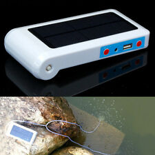 Solar Power Panel LED Oxygenator Oxygen Aerator Air Pump for Pool Pond Fish Tank
