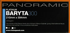 Fotospeed Panoramic Platinum Baryta  300gsm 25 Sheets