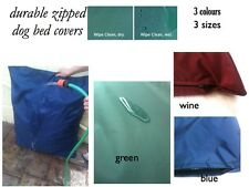 waterproof durable dog bed  SPARe memory foam    zipped durable COVER ONLY