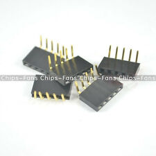 20PCS 1x5Pin 2.54mm Pitch Header Right Angle Female Single Row Socket Connector