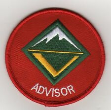 "Advisor (Venture Scouting) Position Patch, ""BSA 2010"" Backing, Mint!"