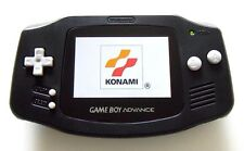 Gameboy Advance w/ AGS-101 Brighter Screen Backlit Black - Nintendo GBA