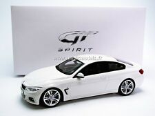 GT Spirit 2014 BMW M435i Sport Pack M Alpine White LE of 504 1/18 New! In Stock!