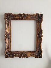 Vintage Rococo Style Plaster Gold Gilt Frame Picture