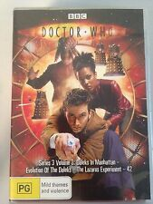DOCTOR WHO Series 3 Volume 3 R4 DVD Free Post