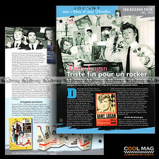#jh065.08 ★ 60's Sixties DANY LOGAN (LES PIRATES) ★ Fiche JOHNNY HALLYDAY
