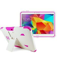 Pink Shockproof Defender Box Case Cover for Samsung Galaxy Tab 4 10.1 SM-T530