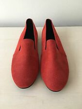 EUC Newbark Red Sparkle Loafer Flats 7