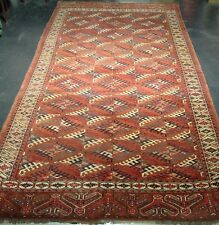 "ANTIKER  YOMUT 344 x 192  - ANTIQUE YOMUT 11' 3"" x 6' 3"" - Ca. 1880"