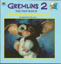 Gremlins 2 The New Batch - Gizmo To The Rescue Book