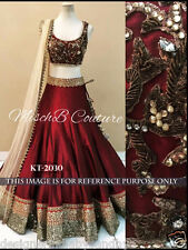 Lehenga Indian Wedding Designer Latest Bollywood lengha blouse dresses sari eid