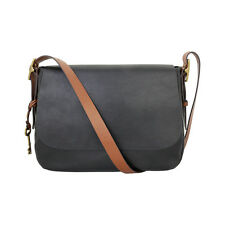 Fossil Women's Harper Large Cross Body Bag Black ZB6760