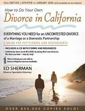 How to Do Your Own Divorce in California: Everything You Need for an U-ExLibrary