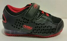 New Boys Baby/Toddler Sz 6 Air Balance, 3887, Black/Red Athletic Sneakers