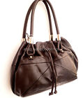 OROTON RRP$695 Bag Handbag Shoulder Tote Shopper Linea Leather Brown Authentic