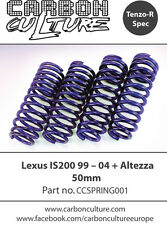 LEXUS IS200 50mm LOWERING SPRINGS- HIGH QUALITY CARBON CULTURE