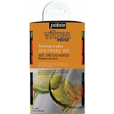 Pebeo Vitrea 160 STAINED GLASS VERNICE Discovery Set - 12 x 20 ml