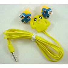 Adventure Time Finn and Jake Headphone Headset Earphone Earbud For iPhone MP3 /4