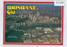 B1249aps Australia Q Brisbane River and city Hughes postcard