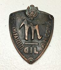 Genuine WW2 Italian Youth Fascist Gil Ancona Arm Badge Young Fascist