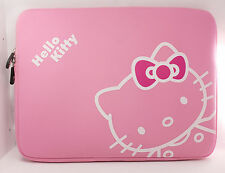 "Hello Kitty Sleeve Soft Pouch Case for MacBook Pro & Air w/Retina 13"" (Pink) NEW"