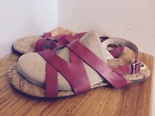 New Dolce Vita Sandals Size 9M Red  Excellent Condition