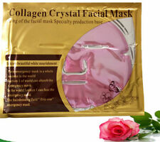 12 Pink Gold Bio Facial MASK Crystal, colageno mascarilla colageina, anti-aging