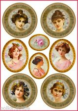 Rice Paper Decoupage Decopatch Sheet Romance Love Rose Lady Images Scrapbooking