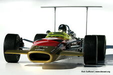 EXOTO 1:18 1968 LOTUS TYPE 49B #10 GRAHAM HILL, US GRAND PRIX, RETIRED, NEW!!!
