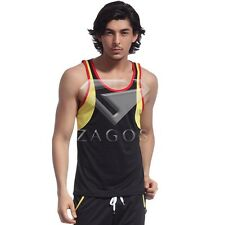 New Men's Dryfit Sleeveless Vest Sports Running Gym Singlet Tank Top S-XL
