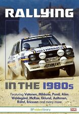 Rallying in the 1980s (New DVD) Rally Vatanen Mikkola Pond McRae Eklund Rohrl
