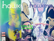ALL-NEW HAWKEYE #5 & 1 PRE AND POST SECRET WARS ISSUES DIGITAL CODES & COMICS!