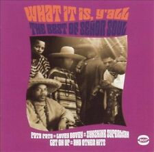 Senor Soul-What It Is, Y'all - The Best Of CD NEW