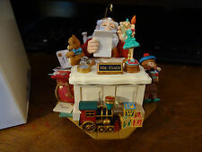 "Hallmark Keepsake Magic Ornament ""Letters To Santa"" Sound & Motion 2006"