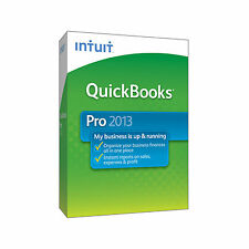 Intuit Quickbooks Pro 2013, Full Version for Windows XP/VISTA, Windows 7 & 8 NEW