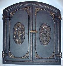 old cast iron fire door / bread oven door / stove smoke / COLORS / 520 x 575mm